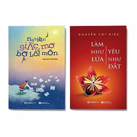 Combo 2 cuốn: Nghiện giấc mơ bơ lối mòn + Làm như lửa yêu như đất