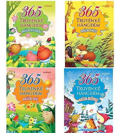 Bộ Sách 365 Truyện Kể Hằng Đêm: Xuân Hạ Thu Đông (Bộ 4 Cuốn)