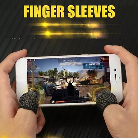 Bộ găng tay chơi game bao 10 ngón tay cao cấp chống mồ hôi chống trượt