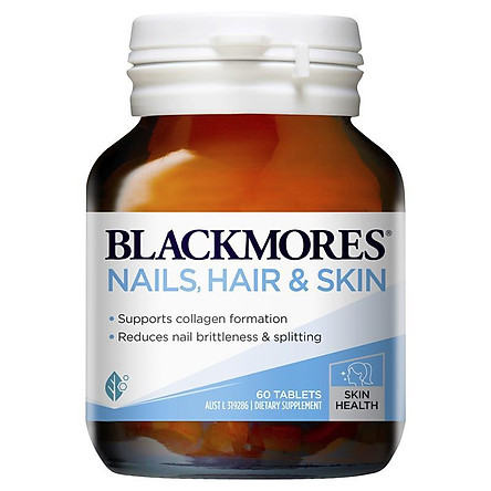 Blackmores Nails Hair & Skin 60 Tablets