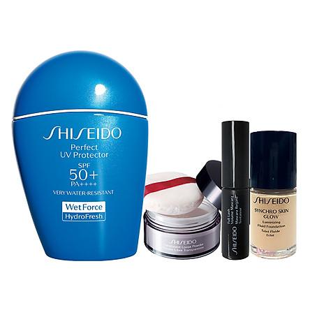 Bộ Sản Phẩm Chống Nắng, Trang Điểm Shiseido Global Suncare Perfect Uv Protector H SPF 50+ PA++++ (50ml) - 95518G