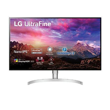 """Màn Hình Đồ Họa LG UltraFine Display 32UL950-W 32"""" UHD 4K (3840×2160) 5ms 60Hz Nano IPS Thunderbolt 3 RADEON FreeSync Stereo Speaker (5W x 2) – Hàng Chính Hãng"""