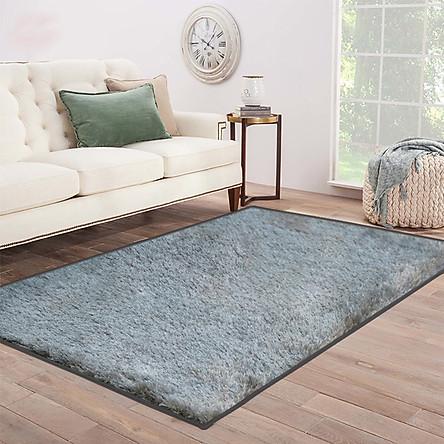 Thảm Lông Sofa Alan  1.6x2.3m Tasnim 1071 Grey