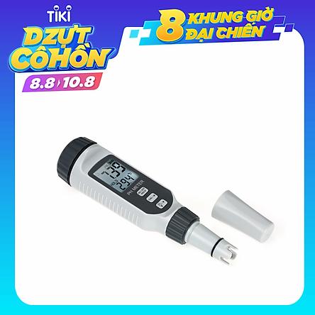 Máy Đo Độ pH, Nhiệt Độ Trong Bể Cá Loại Bút Cầm Tay Có Chức Năng Bù Đắp Nhiệt Độ Và Ánh Sáng Smart Sensor