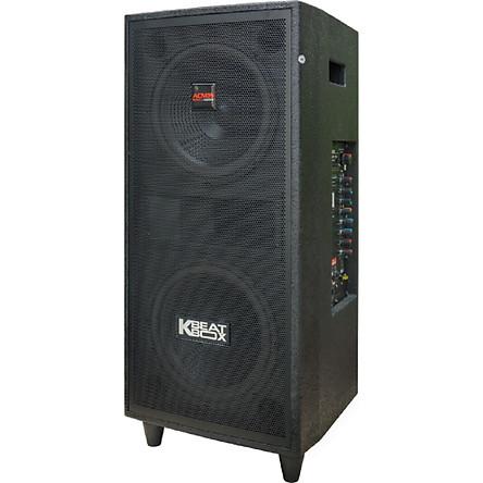 Loa kéo Acnos CB2523 Bluetooth, 2 bass 2.5 tấc gỗ - Chính Hãng Acnos