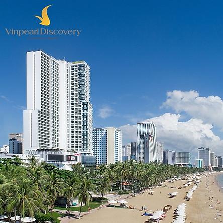 Vinpearl Condotel Beachfront 5* Nha Trang - Gói Thu Tỏa Nắng, Gồm Bữa Sáng, Vui Chơi VinWonders Không Giới Hạn, Quỹ Phòng Có Hạn
