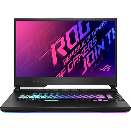 Laptop Asus ROG Strix G15 G512L-UHN145T (Core i7-10750H/ 8GB DDR4 3200MHz/ 512GB SSD PCIE G3X4/ GTX 1660Ti 6GB GDDR6/ 15.6 FHD IPS, 144Hz/ Win10) - Hàng Chính Hãng