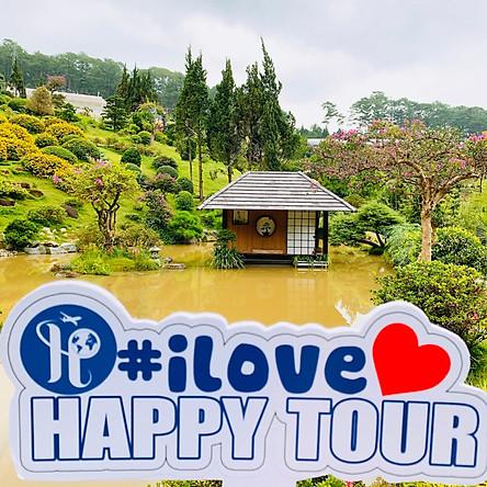 Tour Đà Lạt 3 Ngày 3 Đêm - Que Garden - Cầu Vàng - Puppy Farm - Cổng trời Bali -  Happy Tour