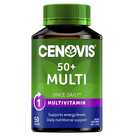 Cenovis Once Daily 50+ Multivitamin 50 Capsules