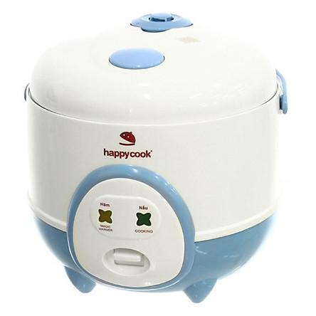 Nồi Cơm Điện HappyCook HC-060 (0.6L) - Xanh - Hàng chính hãng