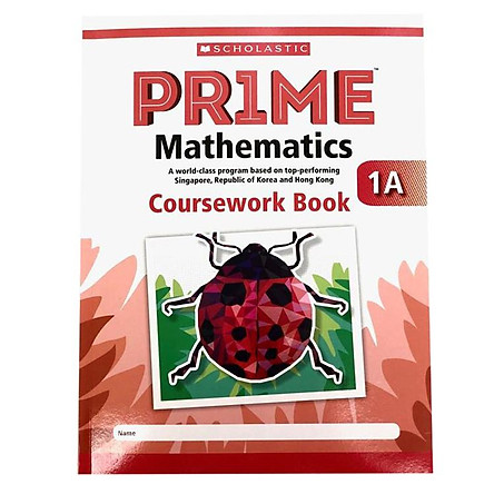1A Scholastic Pr1Me Mathematics Coursework Book