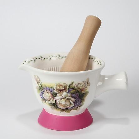 Bộ chày và cối sứ Ceramics Porcelain K2007_62 (Cối 13cm)