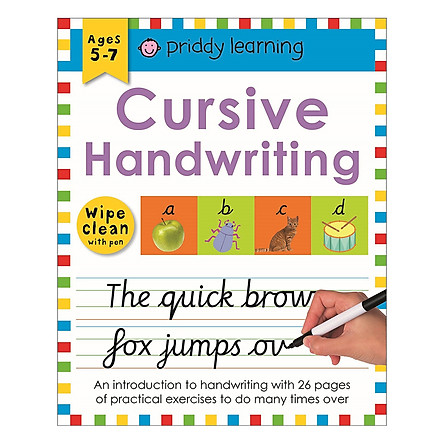 Cursive Handwriting: Wipe Clean Workbooks