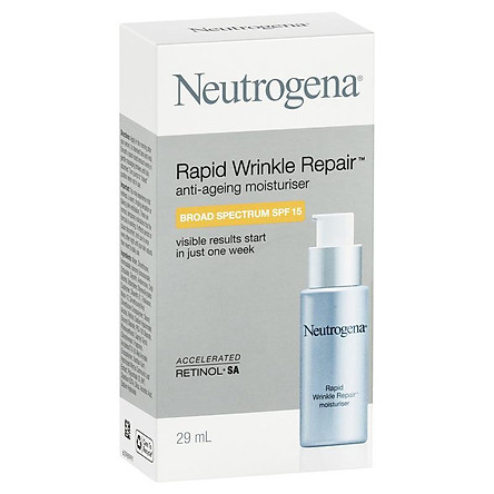Neutrogena Rapid Wrinkle Repair Moisturiser SPF 15 29ml