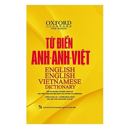 Từ Điển Oxford Anh - Anh - Việt (Bìa Vàng)