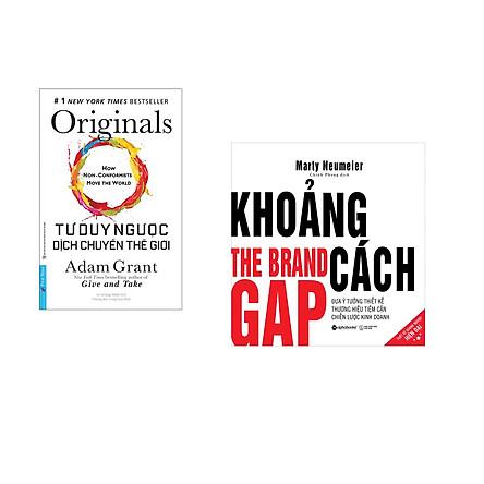 Combo 2 cuốn sách: Tư Duy Ngược Dịch Chuyển Thế Giới + Khoảng cách