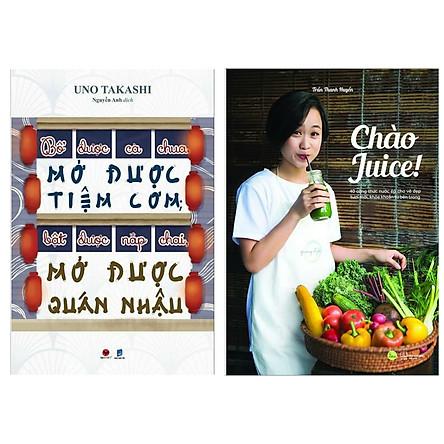 Combo Sách Hay: Bổ Được Cà Chua, Mở Được Tiệm Cơm, Bật Được Nắp Chai, Mở Được Quán Nhậu + Chào Juice (Bộ 2 Cuốn - Tặng Kèm Bookmark Happy Life)