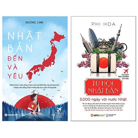 Combo Sách : Du Học Nhật Bản + Nhật Bản Đến Và Yêu