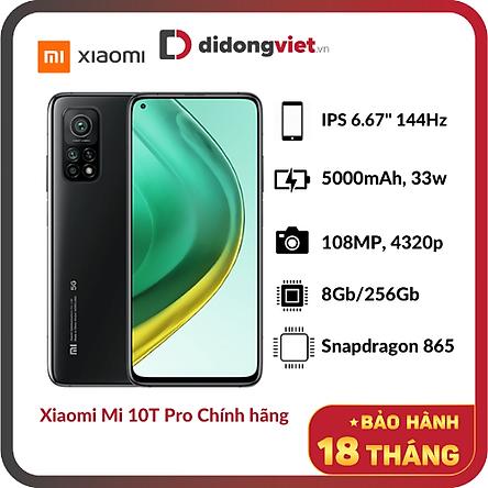 Điện Thoại Xiaomi Mi 10T Pro 5G (8GB/256GB) - Hàng Chính Hãng