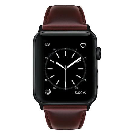 Dây Da Phong Cách Retro Cho Đồng Hồ Thông Minh Apple Watch Dòng 3/2/1 (42mm/38mm)