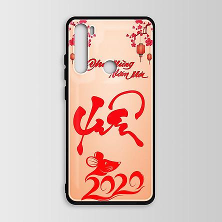Ốp lưng kính dành cho Xiaomi Redmi Note 8 Pro in hình Mùa Xuân Tết đa dạng - M28
