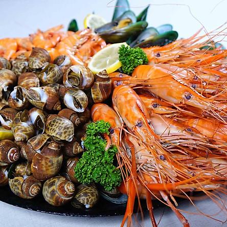 Vé Buffet Trưa Hải Sản Ở Baiyoke Sky Bangkok, Thái Lan