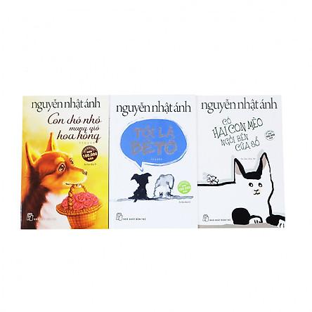 Combo Nguyễn Nhật Ánh chọn lọc: Tôi là Bêtô - Con chó nhỏ mang giỏ hoa hồng - Có hai con mèo bên cửa sổ