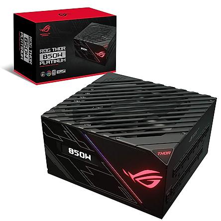 Nguồn Máy Tính ASUS ROG Thor 850P 80+ Platinum 850W Fully-Modular RGB - Hàng Chính Hãng