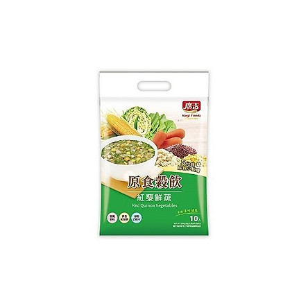Thức uống ngũ cốc diêm mạch đỏ Kugi Foods - 300g (30g*10 gói)