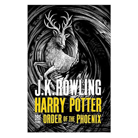 Harry Potter Part 5: Harry Potter And The Order Of The Phoenix (Hardback) (Harry Potter và Hội Phượng Hoàng) (English Book)