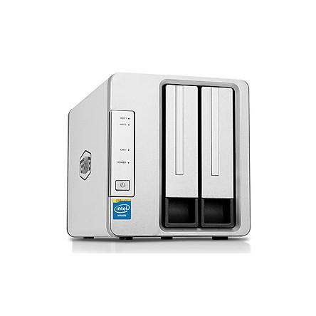 NAS TerraMaster F2-221, Intel Dual-core 2.0GHz, 4GB RAM - Hàng chính hãng