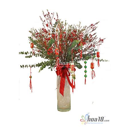 Bình hoa tươi - Lộc Xuân 4309