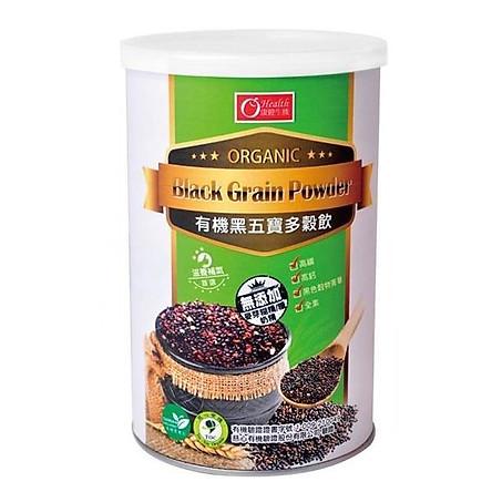 Thức uống ngũ cốc đen hữu cơ Health - 500g/ lọ