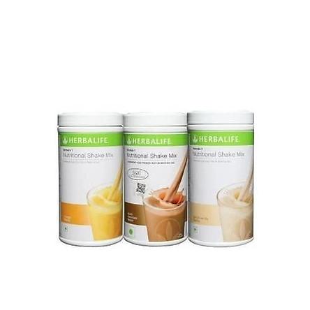 Combo 3 hỗn hợp sữa lắc dinh dưỡng Herbalife Formula 1