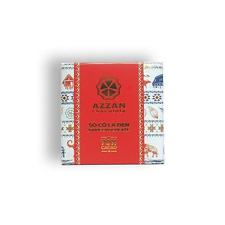 Chocolate Đen Nguyên Chất 70% Cacao 24Gr - Azzan