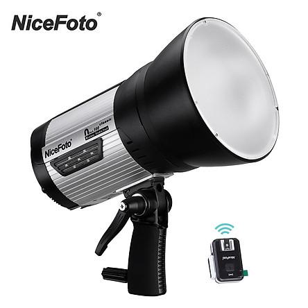 NiceFoto Classic Series nflash300 Wireless Studio Flash Light Portable 5500K Strobe Lighting Lamp 0.1-2s Fast Recycling