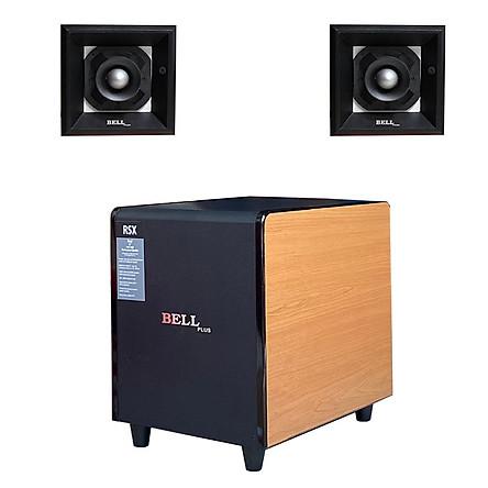 Loa sub điện siêu trầm 3 tấc & đôi loa chép rời cho dàn âm thanh Bellplus (hàng chính hãng)