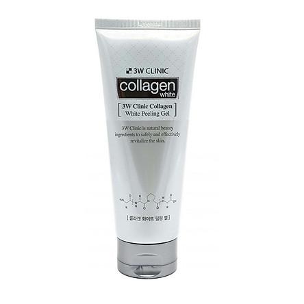 Gel Tẩy Tế Bào Chết Làm Trắng Da 3W Clinic Collagen White Peeling 180ml
