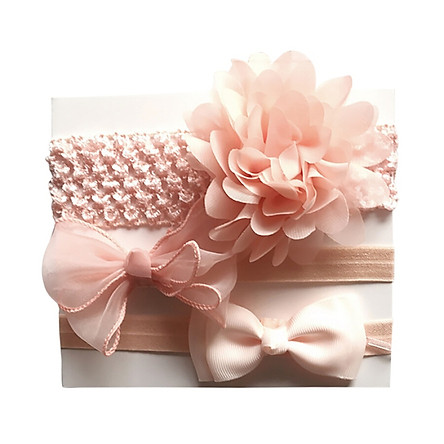 Baby Floral Print Headband For Girls 3 Pcs Baby Girl Floral Elastic Headbands Holiday Party Hair Band Headwear Accessories