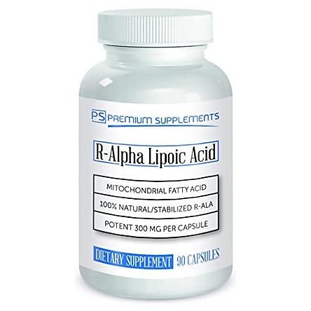R-Alpha Lipoic Acid 300MG of Pure R-LIPOIC Acid 90 Count. ((((MAX Strength))))