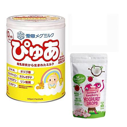Combo 1 hộp sữa Snow baby số 0 tặng kèm 1 gói sữa chua khô Kiwigarden