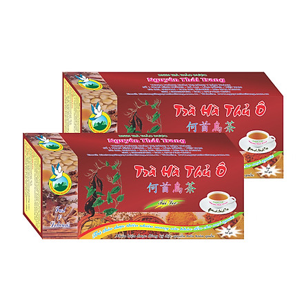 Combo 5 Hộp Trà Hà Thủ Ô  (Hộp 50 Túi Lọc X 2g)- Nguyên Thái Trang – Thảo Dược Thiên Nhiên – Tốt Cho Sức Khỏe