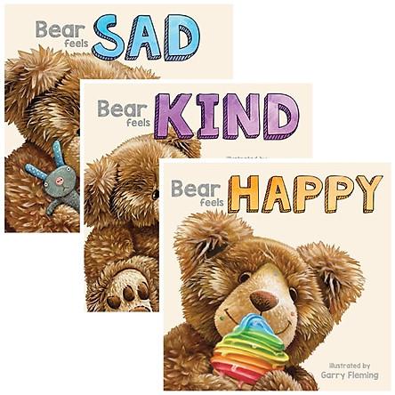 3 Pack of 3D Board Books - Bear Feels