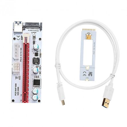 Adapter Kết Nối USB 3.0 NGFF M.2 Và PCI-E 16X