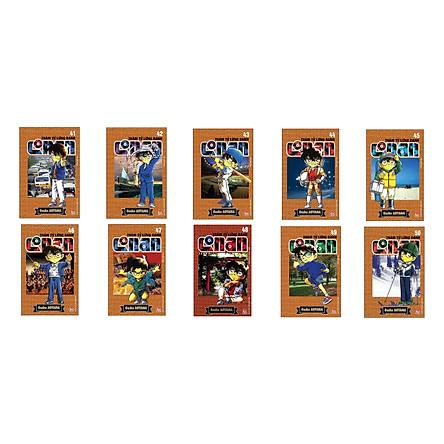 Combo Thám Tử Lừng Danh Conan Tập 41 - 50 (Bộ 10 cuốn)