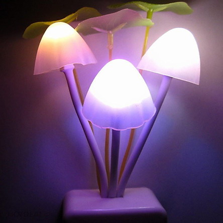 Đèn ngủ avata hình nấm cảm ứng ánh sáng đổi màu