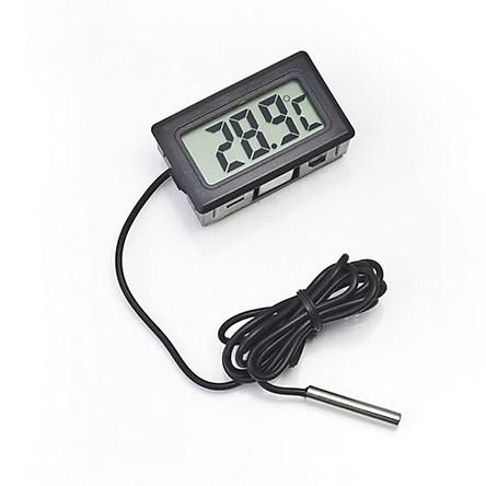 Nhiệt kế kỹ thuật số LCD cho nhiệt độ tủ đông -50 ~ 110 ama62