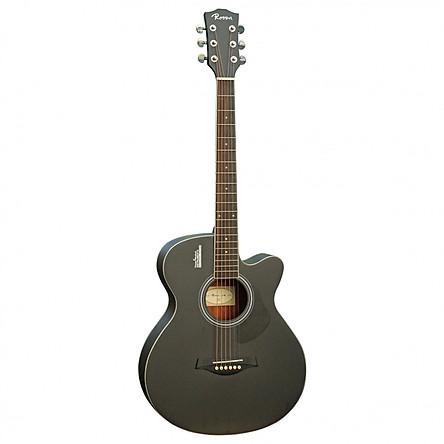 Đàn Guitar Acoustic Rosen G11-40BK (Gỗ Thịt - Solid top)