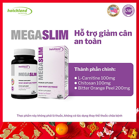 Thực phẩm chức năng tiêu mỡ, giảm cân hiệu quả Mega Slim