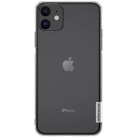 Ốp Lưng Dẻo Silicon Trong Suốt cho Apple iPhone 11 6.1 Hiệu Nillkin - Hàng chính hãng.